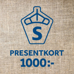 Presentkort, 1000 kr