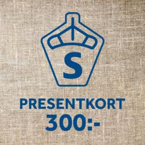 Presentkort, 300 kr