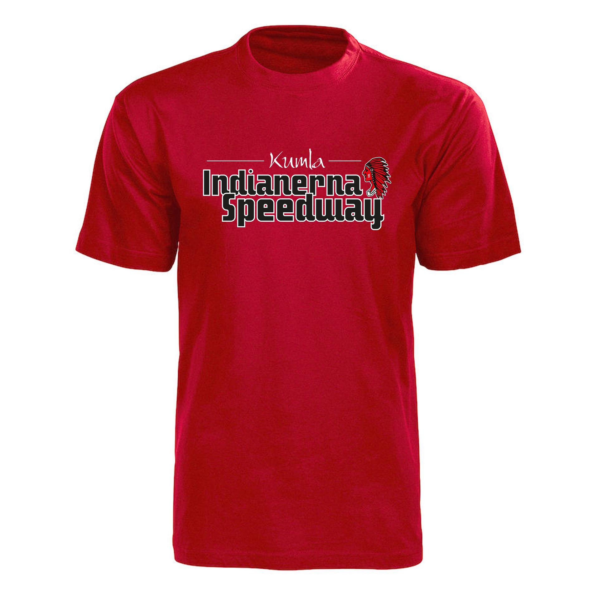 T shirt Kumla, röd